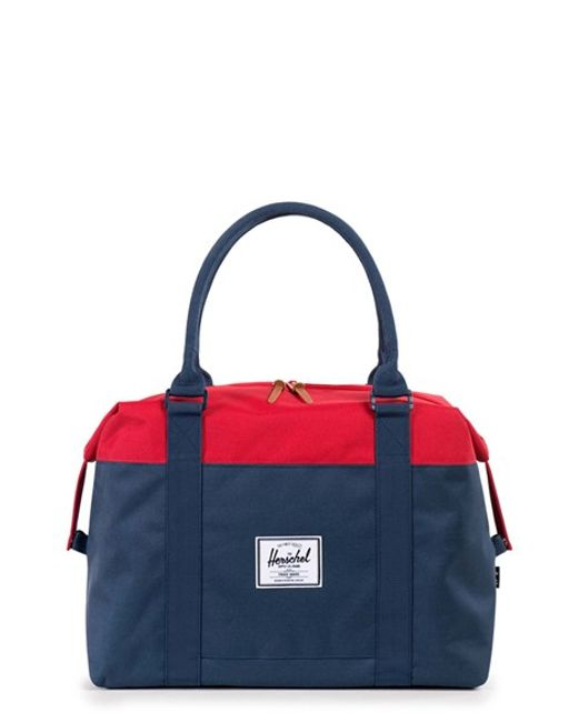 Gym Bag Herschel: Herschel Supply Co. 'strand' Duffel Bag In Red (NAVY/ RED