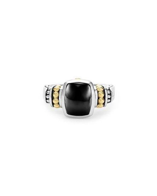 Lagos | Blue 'caviar Color' Small Semiprecious Stone Ring | Lyst