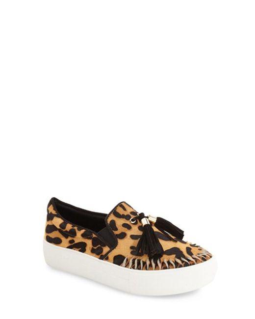 J/Slides | Blue 'aztec' Tassel Slip-on Sneaker | Lyst