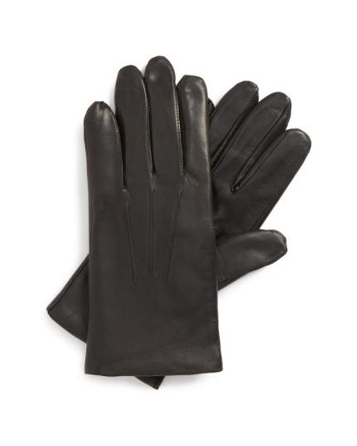 John W. Nordstrom | Black John W. Nordstrom Leather Tech Gloves for Men | Lyst