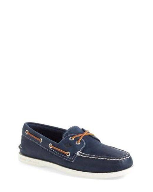 Sperry Top-Sider | Blue 'authentic Original' Boat Shoe for Men | Lyst