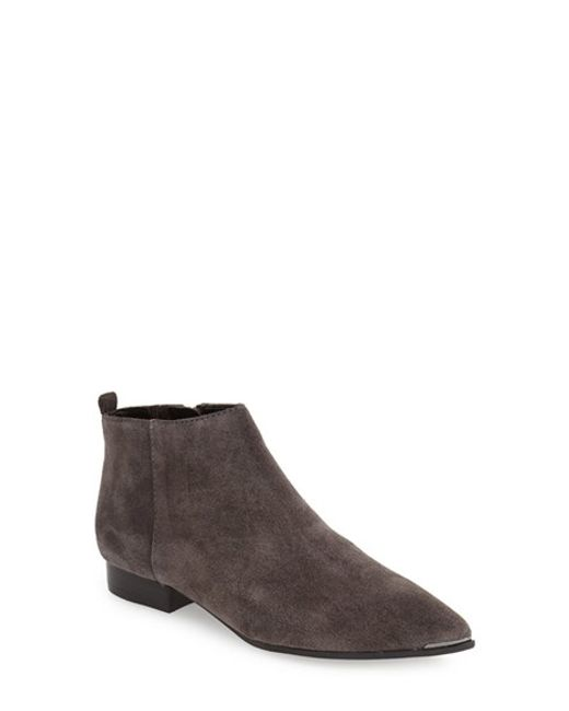 marc fisher hilary suede boots in brown lyst