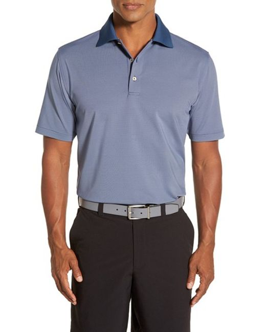 Peter Millar 39 Nena 39 Stripe Stretch Microfiber Golf Polo In