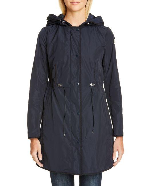 Moncler Blue Anthemis Raincoat
