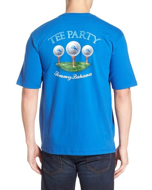 Tommy Bahama 39 Party Tee 39 Graphic T Shirt In Blue For Men