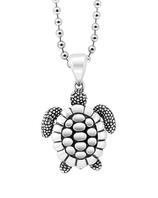 Lagos | Metallic 'rare Wonders - Turtle' Long Talisman Necklace | Lyst