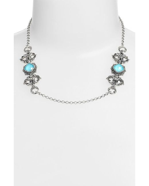 Konstantino | Metallic 'aegean' Station Necklace | Lyst