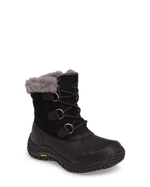 UGG | Brown Ugg Ostrander Waterproof Winter Boot | Lyst