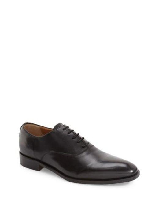 Kenneth Cole | Black Top Coat Plain Toe Oxford for Men | Lyst