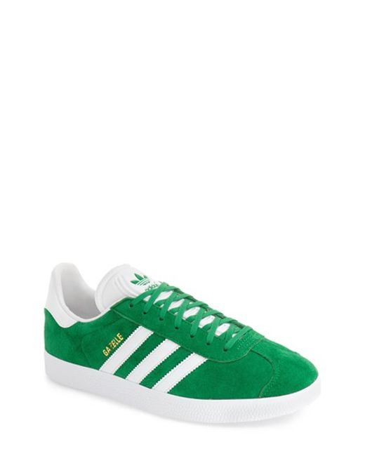 Adidas Originals | Gazelle Trainers In Green Bb5477 - Green for Men | Lyst