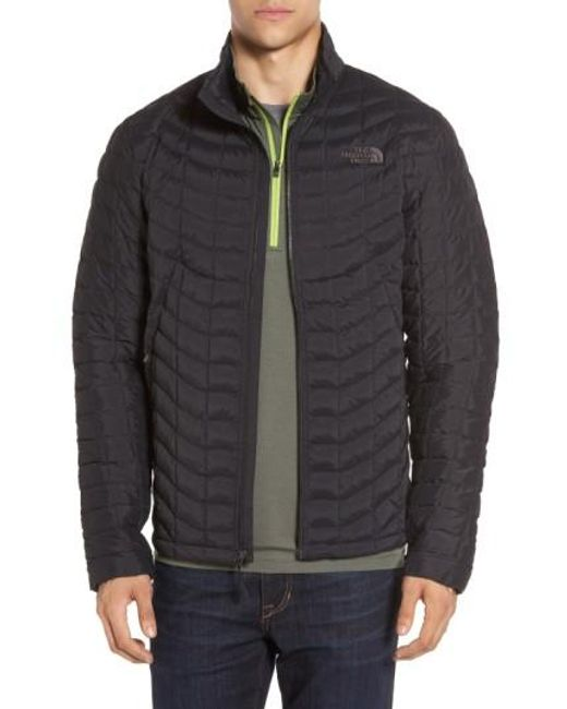 The North Face | Packable Stretch Thermoball(tm) Primaloft Jacket, Black for Men | Lyst