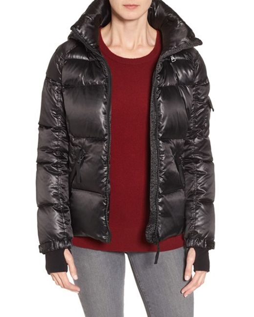 S13 Nyc S13 Kylie Metallic Quilted Jacket With Removable