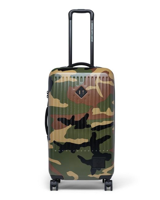 Herschel Supply Co. Green Trade Medium 29-inch Wheeled Packing Case for men