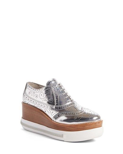 Nordstrom Mens Metallic Oxford Shoes