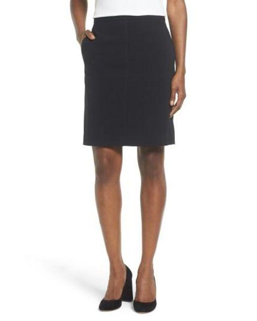 Anne Klein   Black Two-pocket Suit Skirt   Lyst