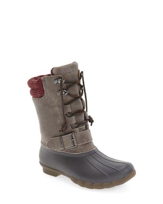 Sperry top-sider 'Saltwater Misty' Waterproof Rain Boot in ...