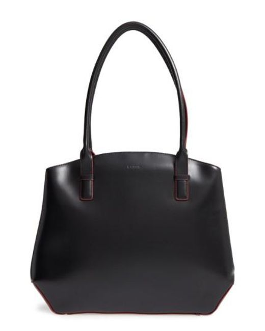Lodis | Black Patty Leather Briefcase | Lyst