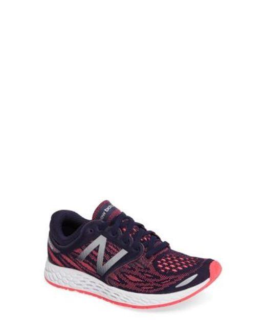 New Balance | Blue Zante V3 Running Shoe for Men | Lyst