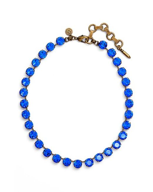 Loren Hope | Blue 'kaylee' Collar Necklace | Lyst