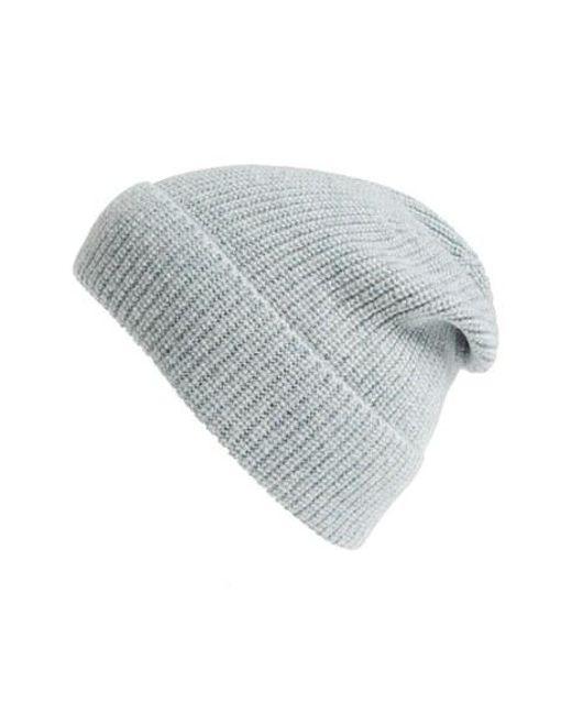 a p c bonnet stig camel hair beanie in blue for men lyst. Black Bedroom Furniture Sets. Home Design Ideas