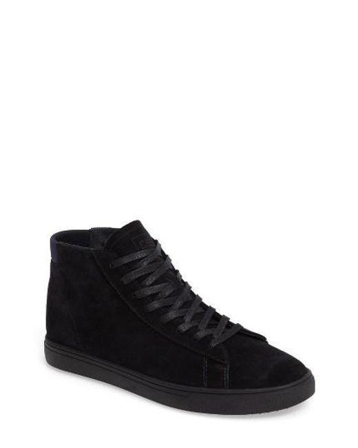 CLAE | Blue 'bradley Mid' Sneaker for Men | Lyst