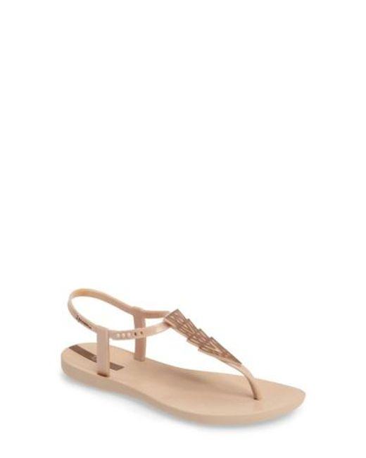 Ipanema   Natural Deco Thong Sandal   Lyst