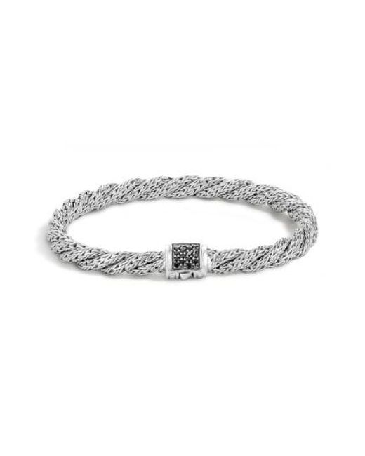 John Hardy | Metallic 'classic Cable' Twisted Chain Bracelet | Lyst