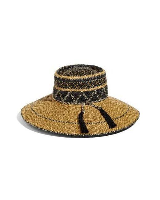 Eric Javits | Multicolor Palermo Squishee Wide Brim Hat | Lyst