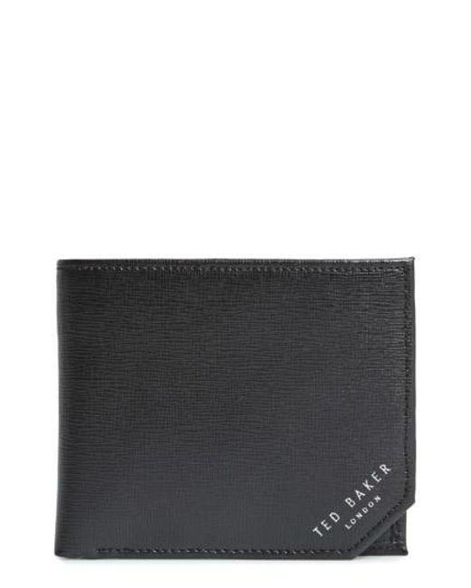 Ted Baker | Black Leather Wallet for Men | Lyst