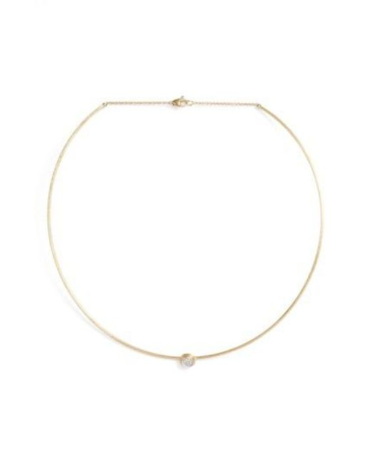 Marco Bicego | Metallic Diamond Collar Necklace | Lyst