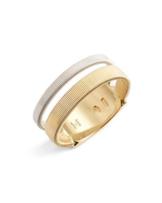 Marco Bicego | Metallic Masai Two Strand Coil Ring | Lyst