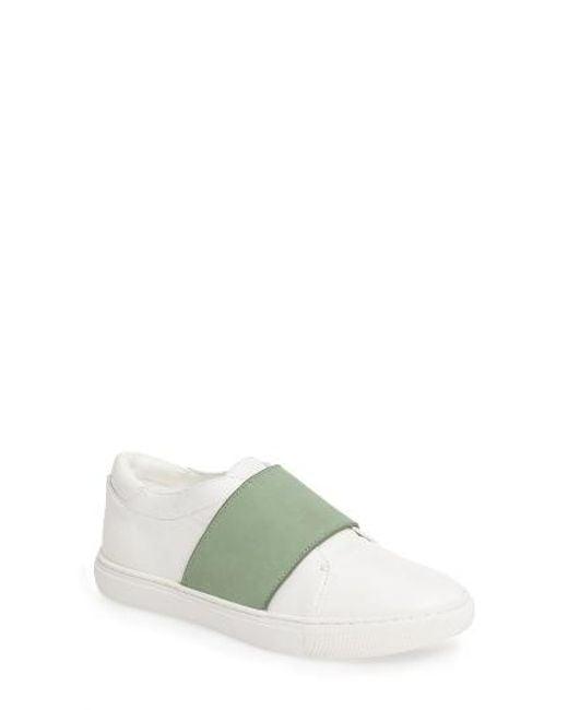 Kenneth Cole | Green Konner Slip-on Sneaker | Lyst