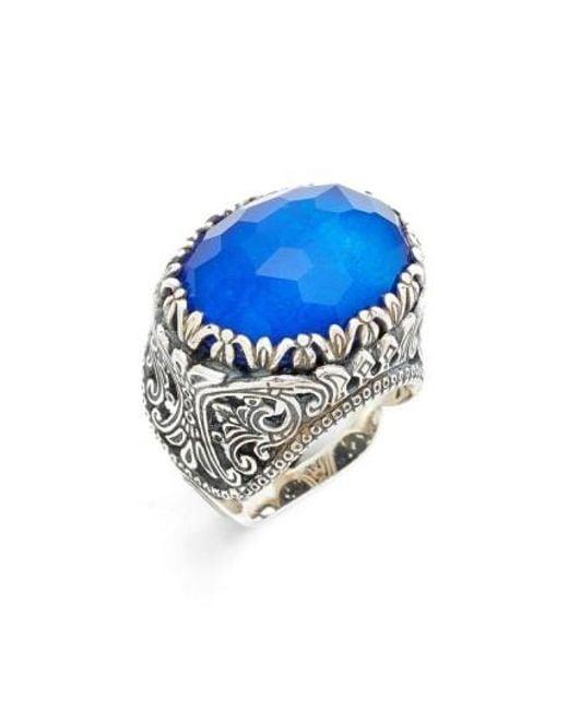 Konstantino   Blue Andromeda Lapis Lazuli Ring   Lyst