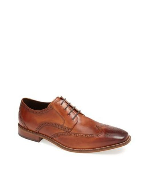 Florsheim | Brown 'castellano' Wingtip for Men | Lyst