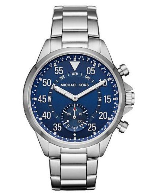 Michael Kors | Blue Michael Kors Gage Bracelet Smart Watch for Men | Lyst