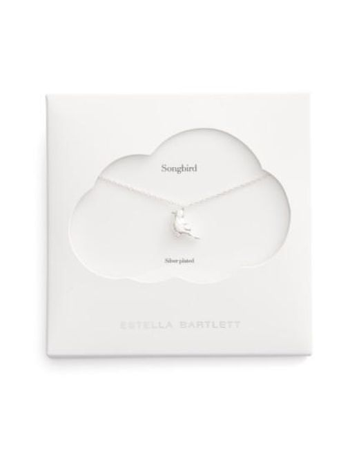 Estella Bartlett | Metallic Robin Songbird Pendant Necklace | Lyst