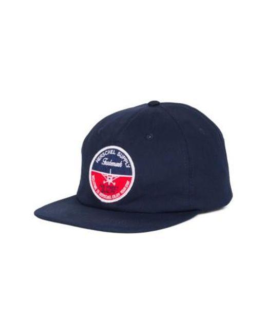 Herschel Supply Co. | Blue 172 Baseball Cap for Men | Lyst