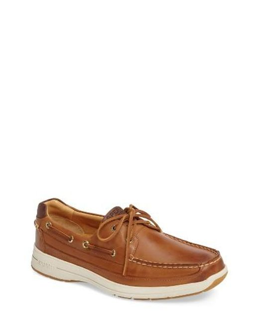 Sperry Top-Sider | Brown Gold Cup Ultralite Boat Shoe for Men | Lyst