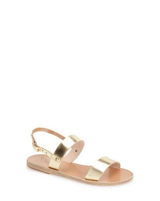 Ancient Greek Sandals | Multicolor Clio Slingback Sandal | Lyst