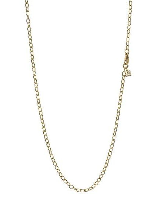 Temple St. Clair | Metallic Temple St. Clair 18-inch Oval Chain Necklace | Lyst