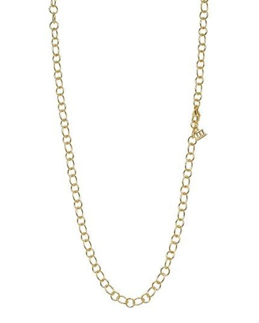 Temple St. Clair   Metallic Temple St. Clair 18-inch Ribbon Chain Necklace   Lyst