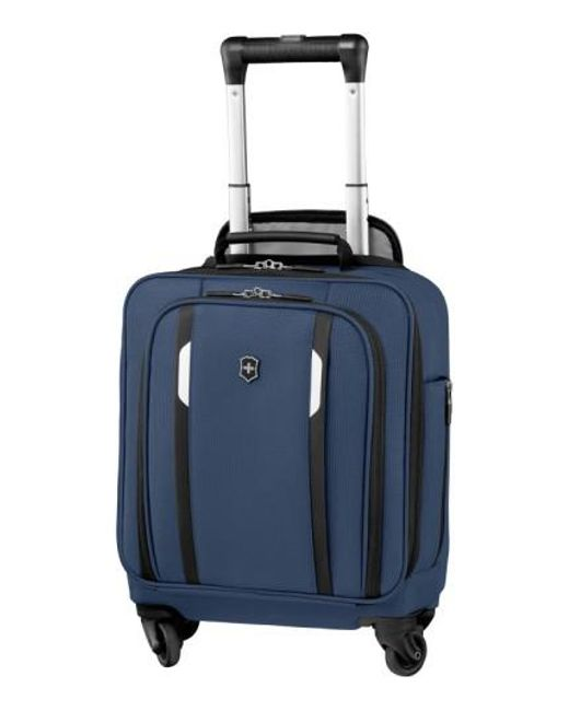 Victorinox | Blue Victorinox Swiss Army 'wt 5.0' Wheeled Tote Bag for Men | Lyst