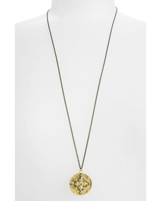 Armenta | Metallic Old World Pendant Necklace | Lyst