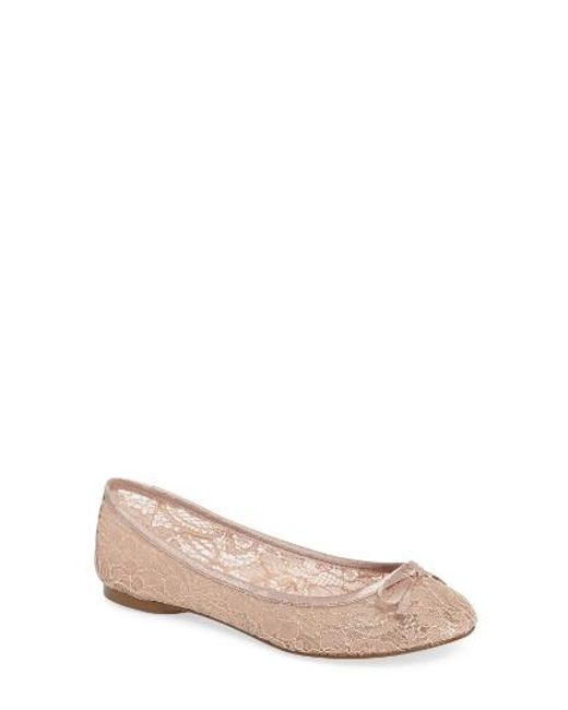 Adrianna Papell | Pink Sage Flat | Lyst