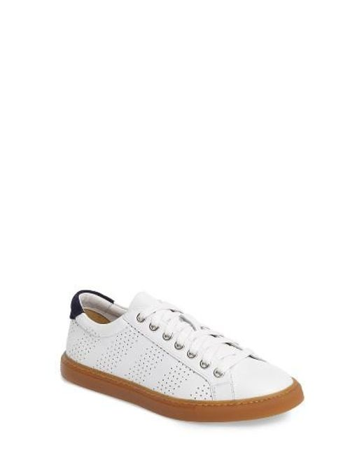 Treasure & Bond | White Merrick Perforated Sneaker | Lyst