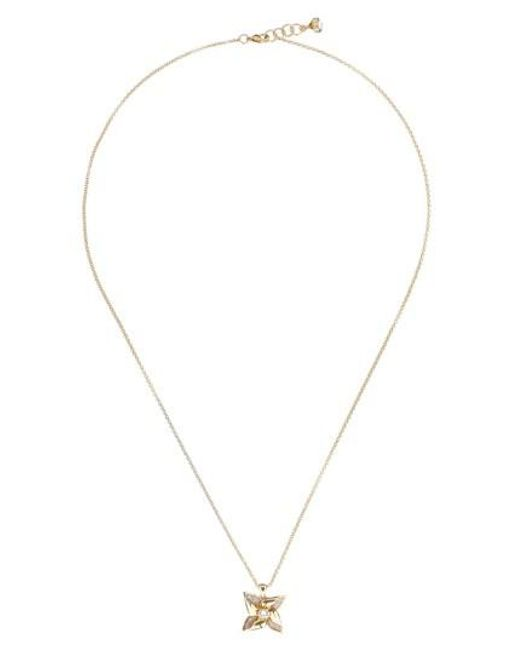 Ted Baker | Metallic Kineta Pendant Necklace | Lyst