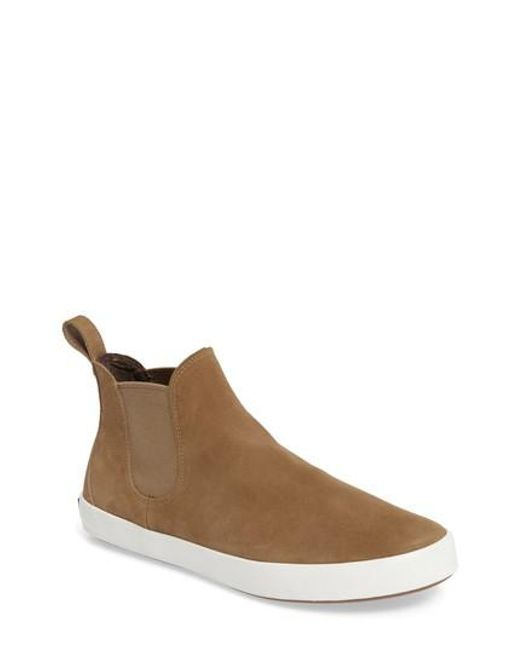 Sperry Top-Sider | Brown Wahoo Chelsea Sneaker Boot for Men | Lyst