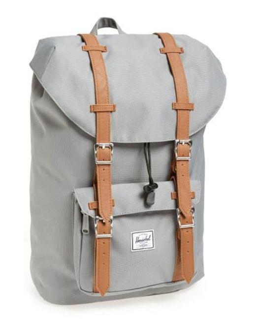 Herschel Supply Co.   Gray 'little America - Mid Volume' Backpack for Men   Lyst