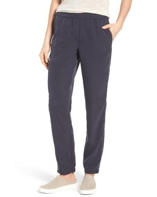 NIC+ZOE | Blue City Slicker Pants | Lyst