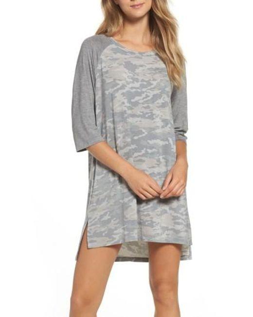 Honeydew Intimates | Gray Jersey Sleep Shirt | Lyst
